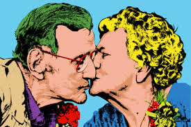 Classic Warhol Old Couple