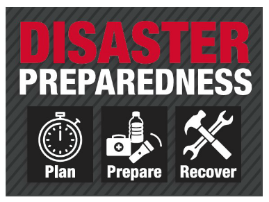 Disaster preparedness Graphic
